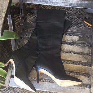 Via Spiga pointed toe knee boots never worn 7